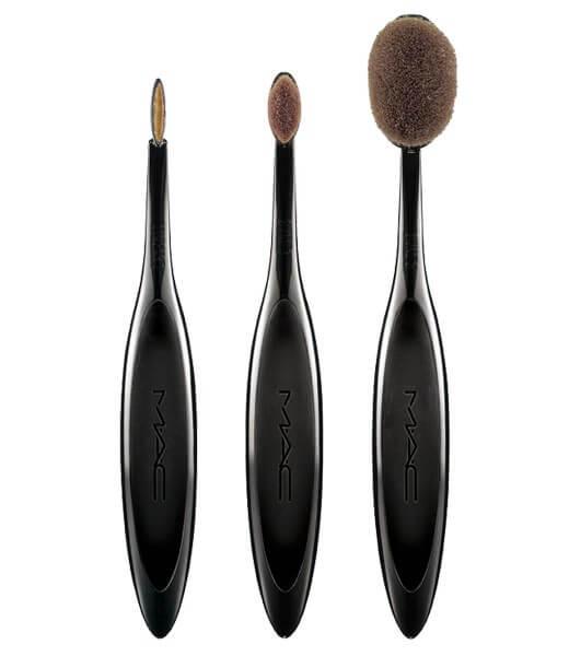 Обзор и отзывы о кисти MAC oval brush
