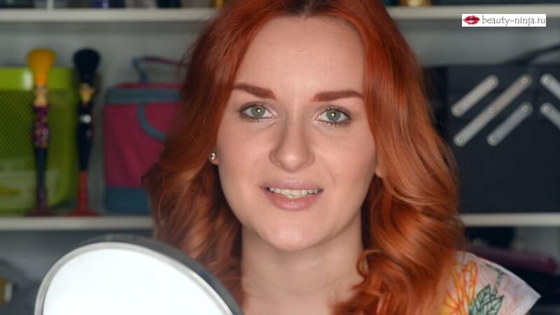 Законченный образ макияжа