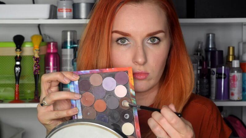 Коричневые тени Makeup Atelier