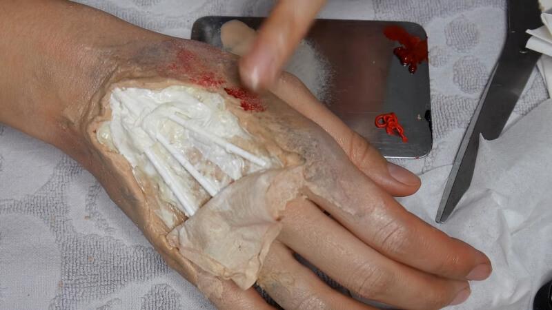 Создаем прилив крови на коже