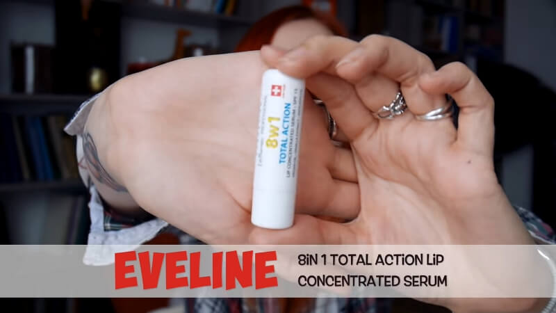 Бальзам для губ Eveline 8in1 Total Action Lip Concentrated Serum