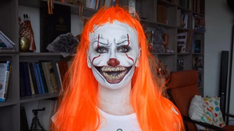 Готовый образ танцующего клоуна - Пенивайз
