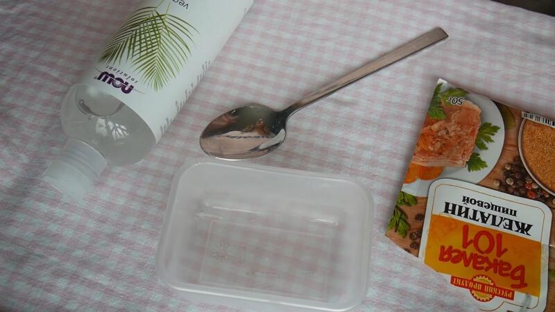 Ингредиенты для домашнего латекса
